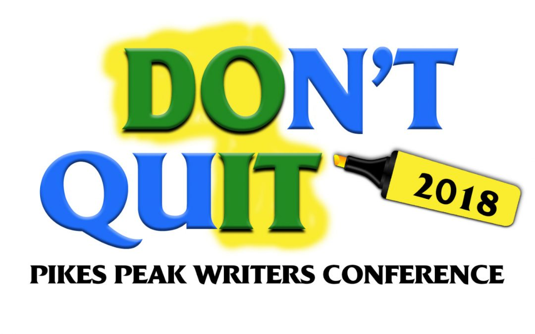 Pikes Peak Writers Conference 2018