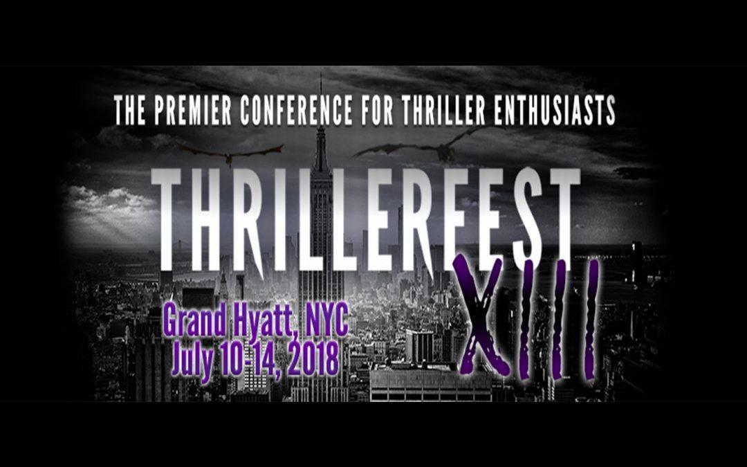 Thrillerfest 2018: Recap